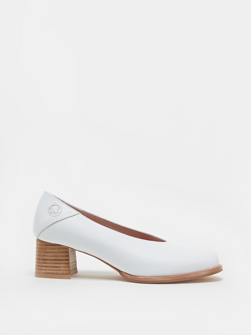 RUBBER HEELS (White)